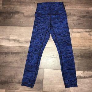 Lululemon High Times Pants 7/8 Life Lines Luxtreme